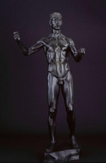 Bronzefigur Turner Von 1931 Antiquitäten & Kunst Metallobjekte