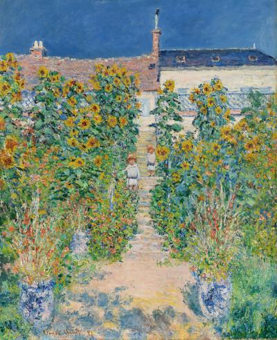 Claude Monet, The Artistu0027s Garden At Vétheuil