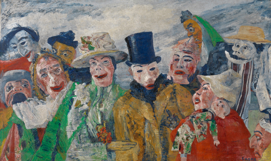 Art Disappears Into Commerce Like >> I M A Creampuff Gone Rotten James Ensor On Art And Life Blog