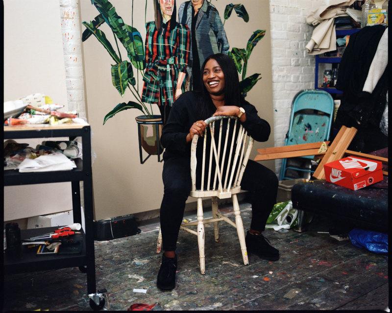 In the studio with Joy Labinjo