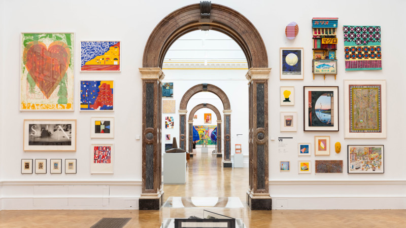 Behind the scenes of the 2021 Summer Exhibition