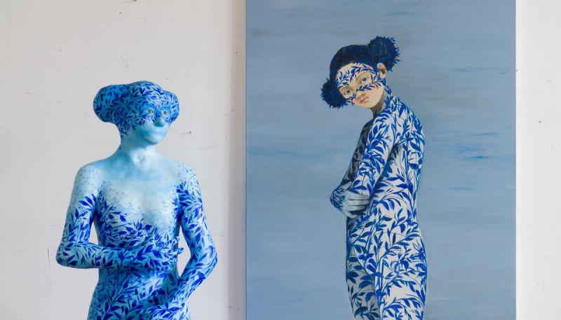In 60 seconds: Lisa Wright's 'Porcelain Gaze'