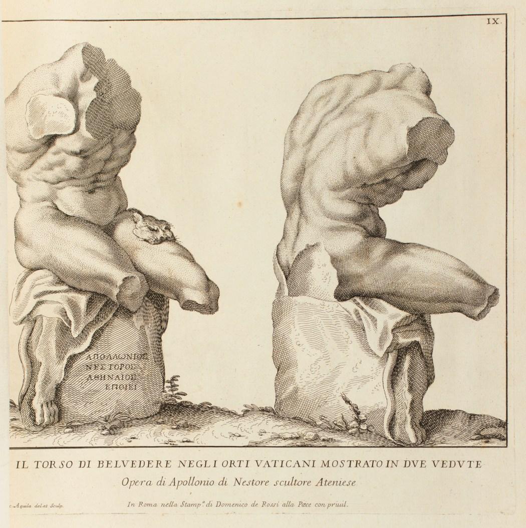 Cast of Belvedere Torso | Works of Art | RA Collection
