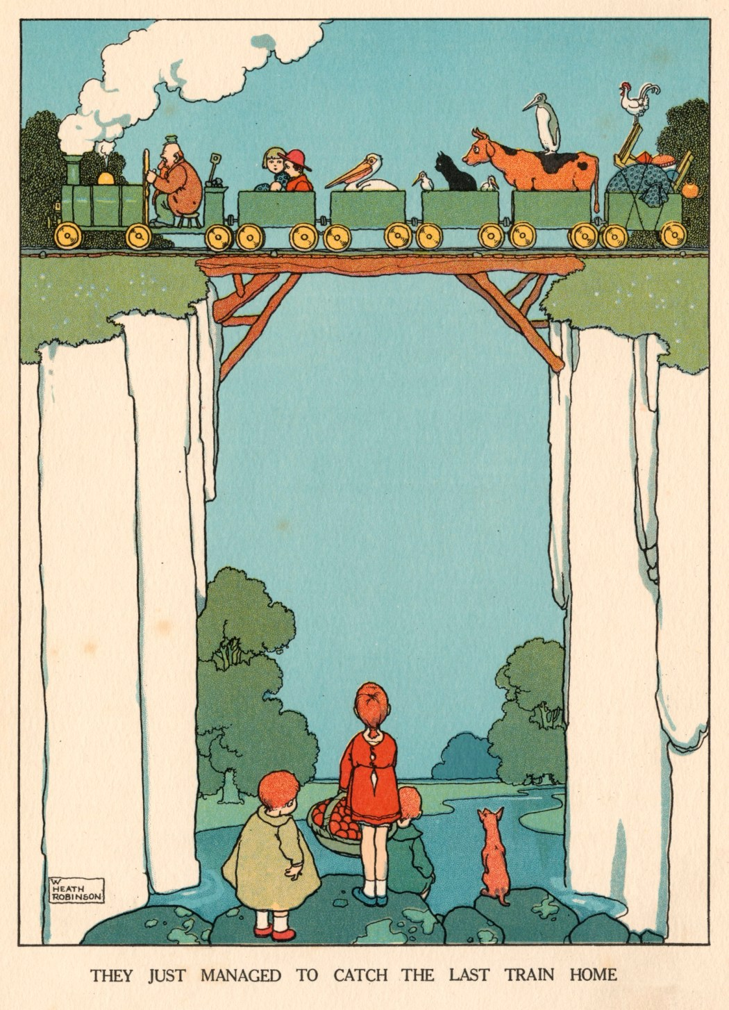 William Heath Robinson | Artist | Royal Academy of Arts