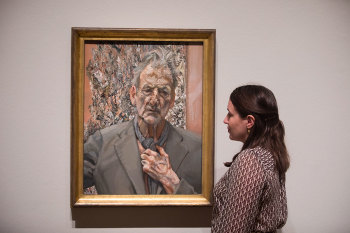 Lucian Freud, 'Self-portrait, Reflection', 2002