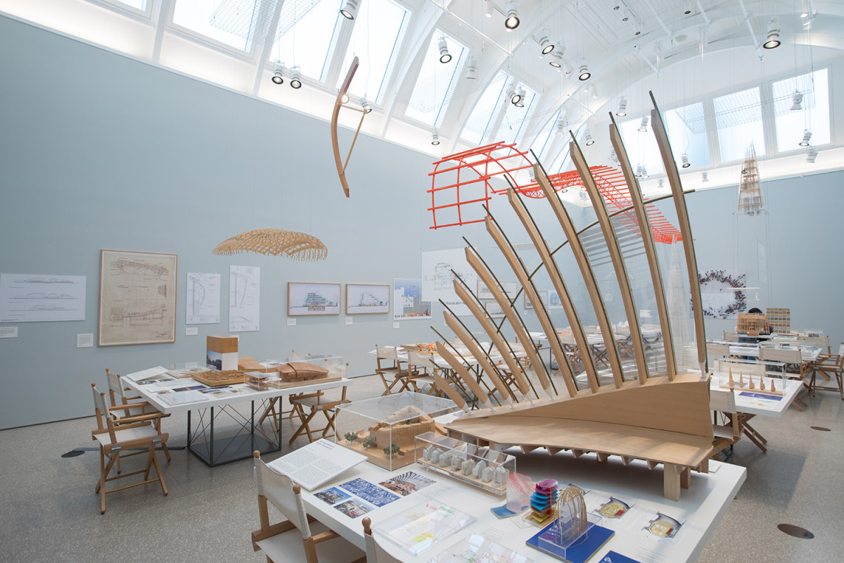 Renzo piano exhibition royal academy of arts
