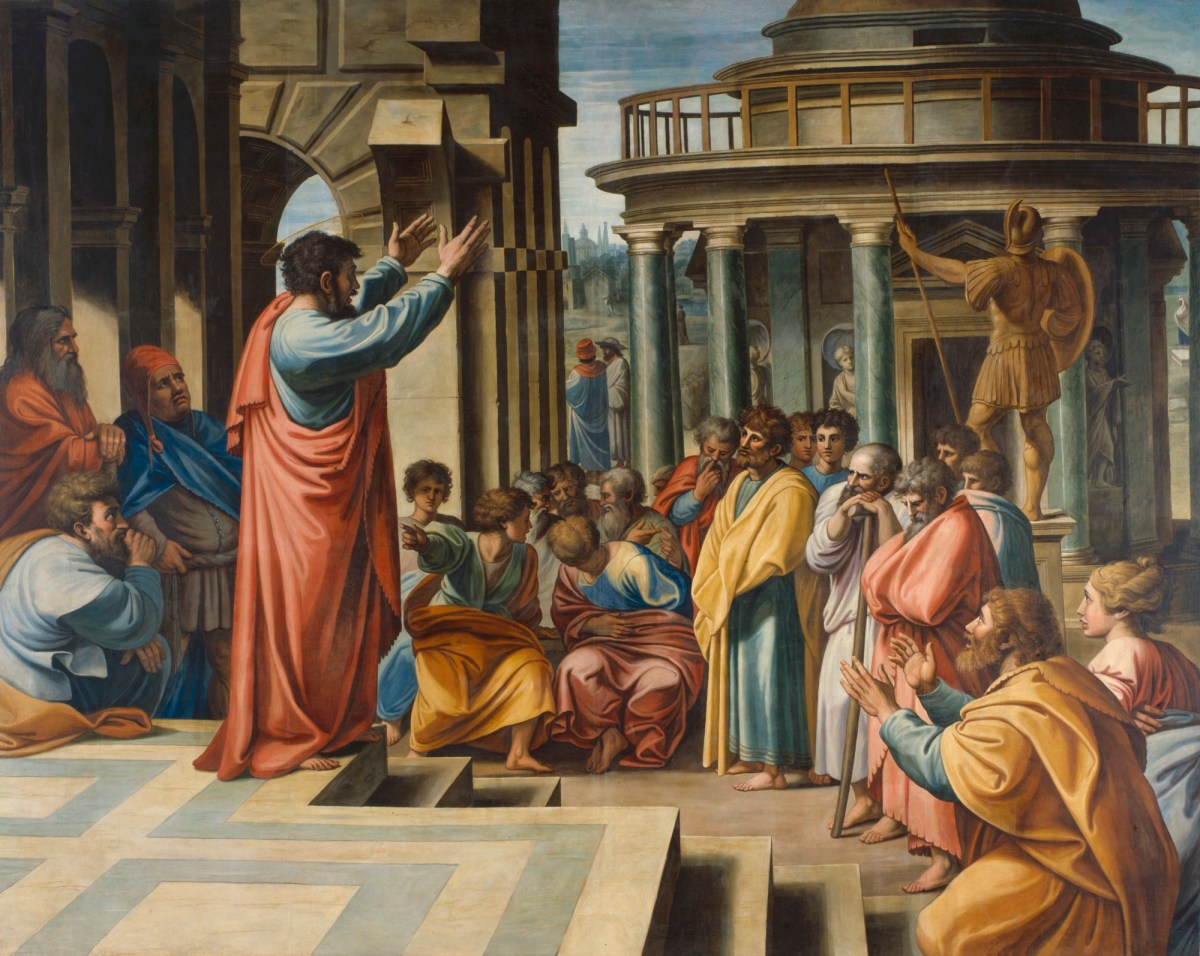 Paul preaching in the Areopagus | Works of Art | RA Collection ...
