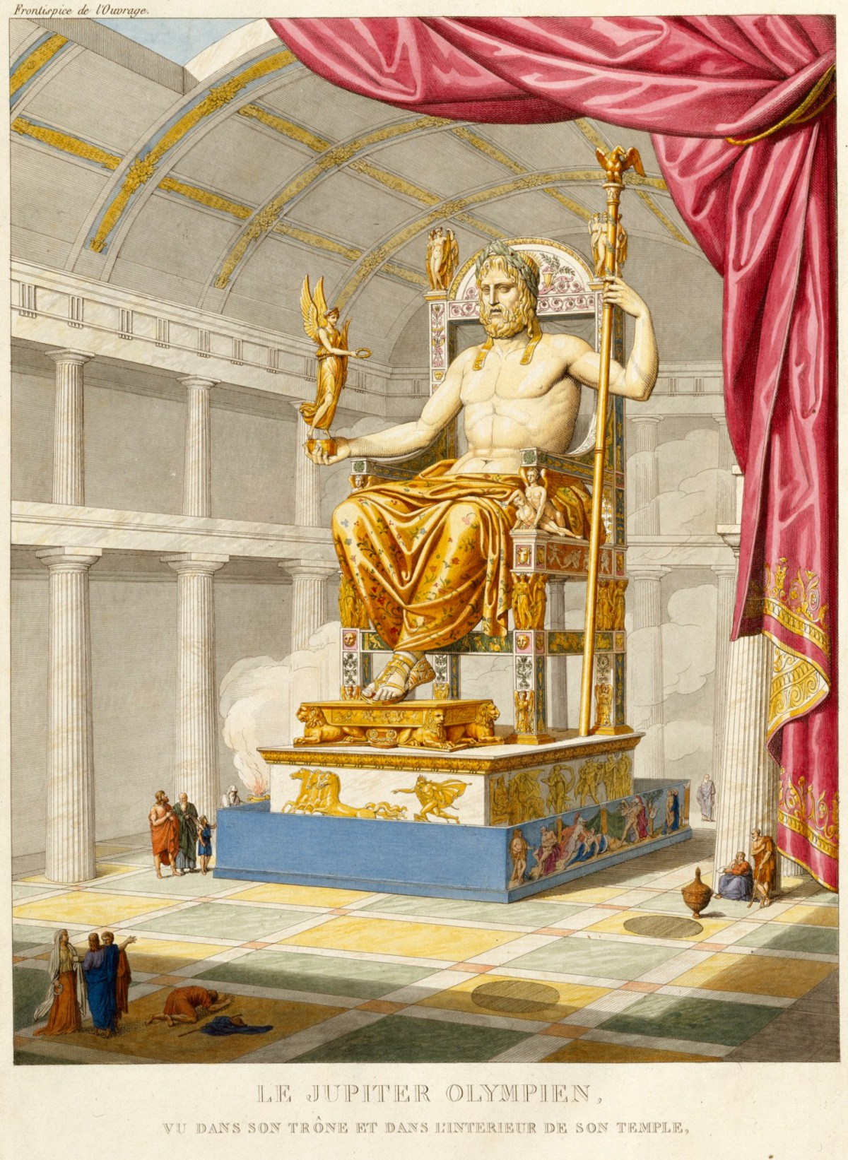 Rogers Auto Sales >> Le Jupiter Olympien vu dans son trône | Works of Art | RA Collection | Royal Academy of Arts