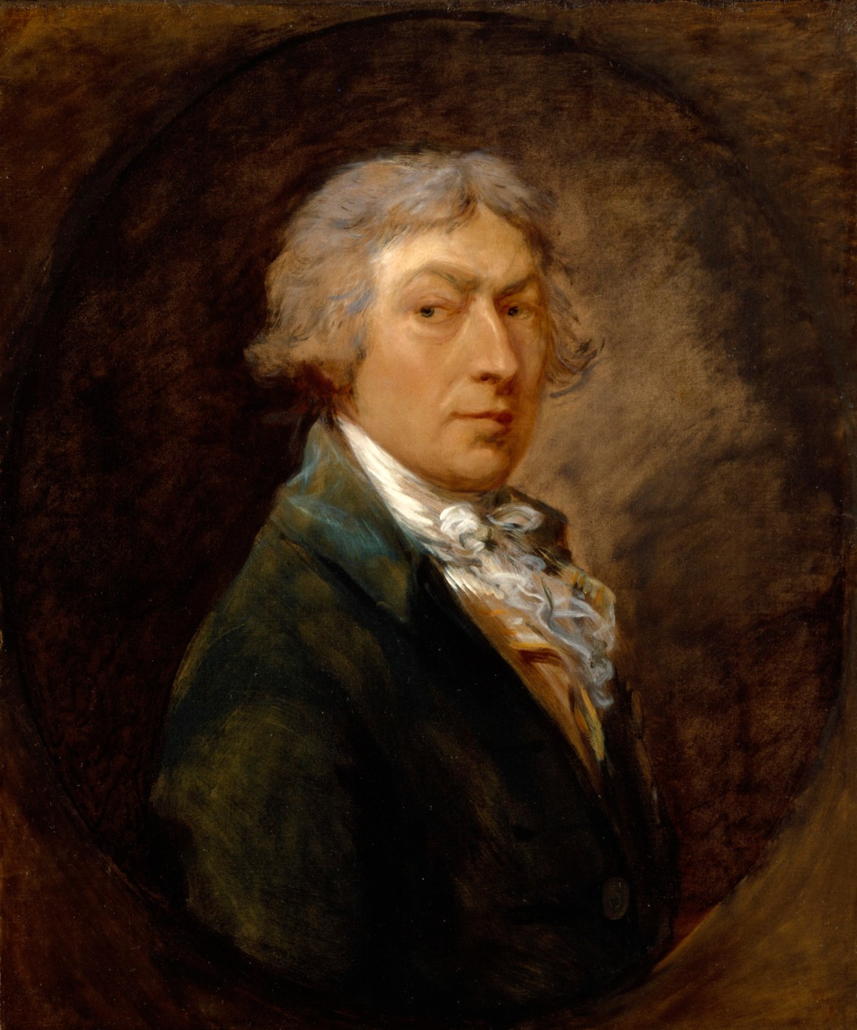 Rogers Auto Sales >> Self-portrait of Thomas Gainsborough, R.A. | Works of Art | RA Collection | Royal Academy of Arts