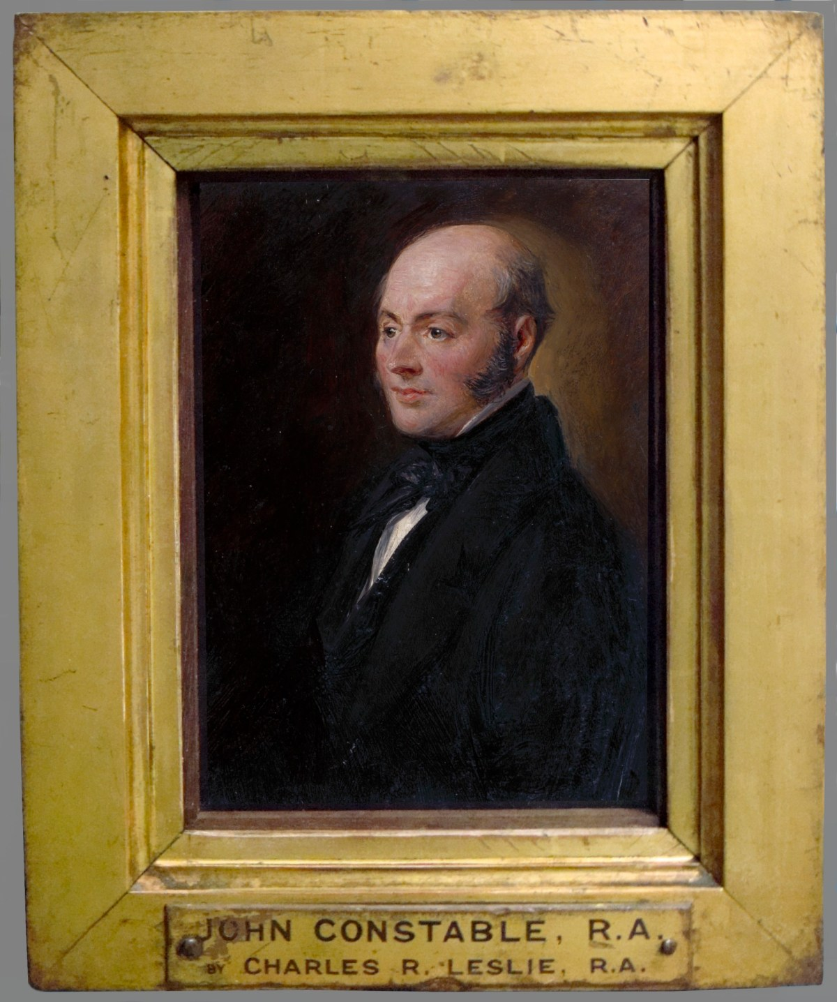 Frame For Charles Robert Leslie Ra Portrait Of John Constable R A Works Of Art Ra Collection Royal Academy Of Arts