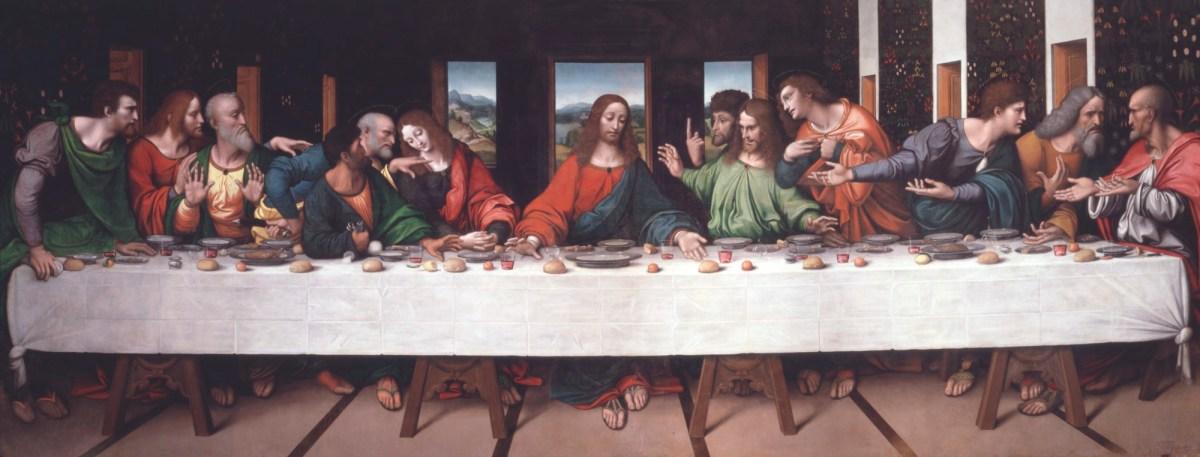 Giampietrino and Giovanni Antonio Boltraffio, Copy of Leonardo's The Last Supper