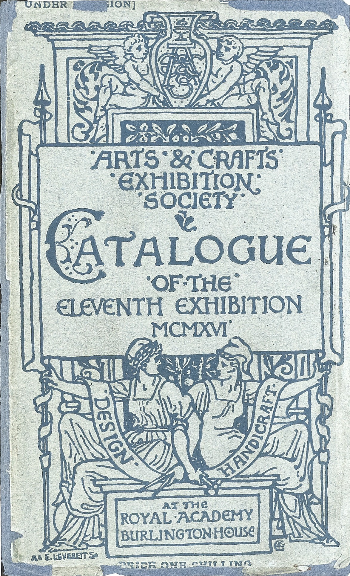 1916 Arts Crafts Exhibition Society Eleventh Exhibition Exhibition Catalogues Ra Collection Royal Academy Of Arts