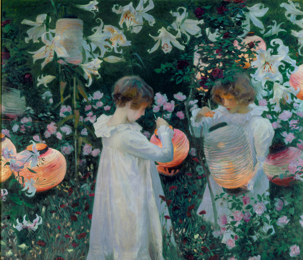 The story behind John Singer Sargent RA's 'Carnation, Lily, Lily ...