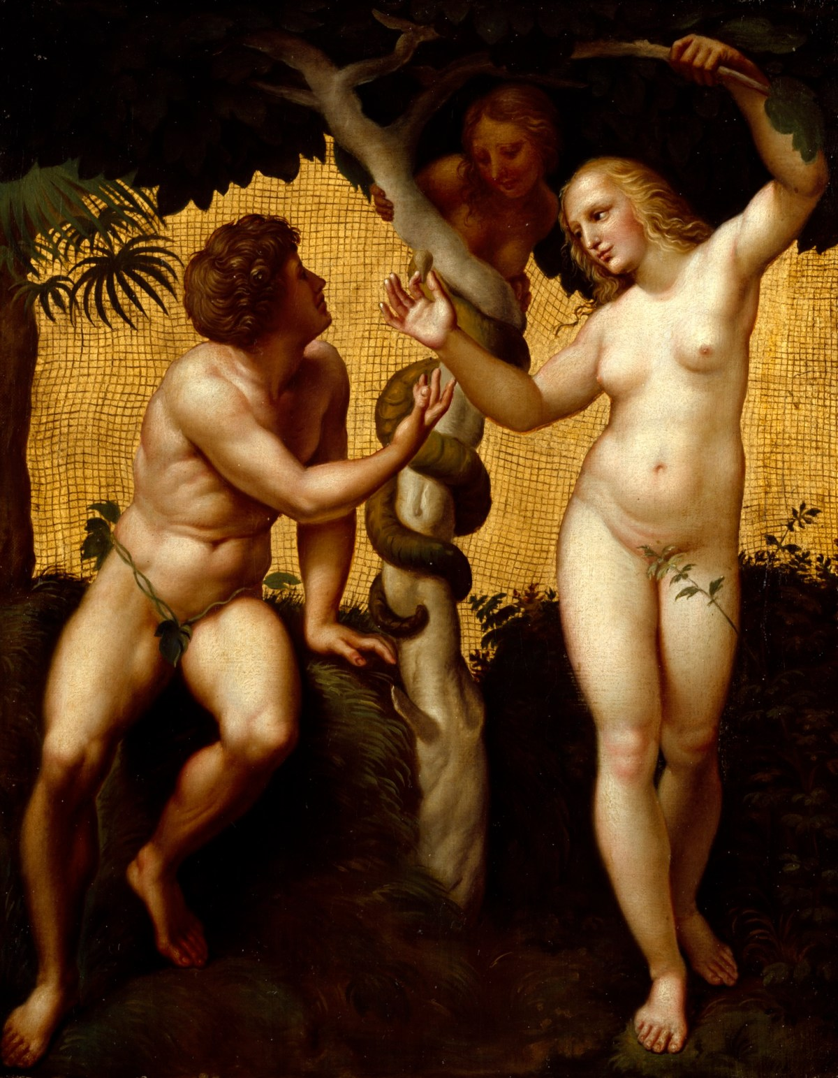 Eve Nude adam and eve | works of art | ra collection | royal academy