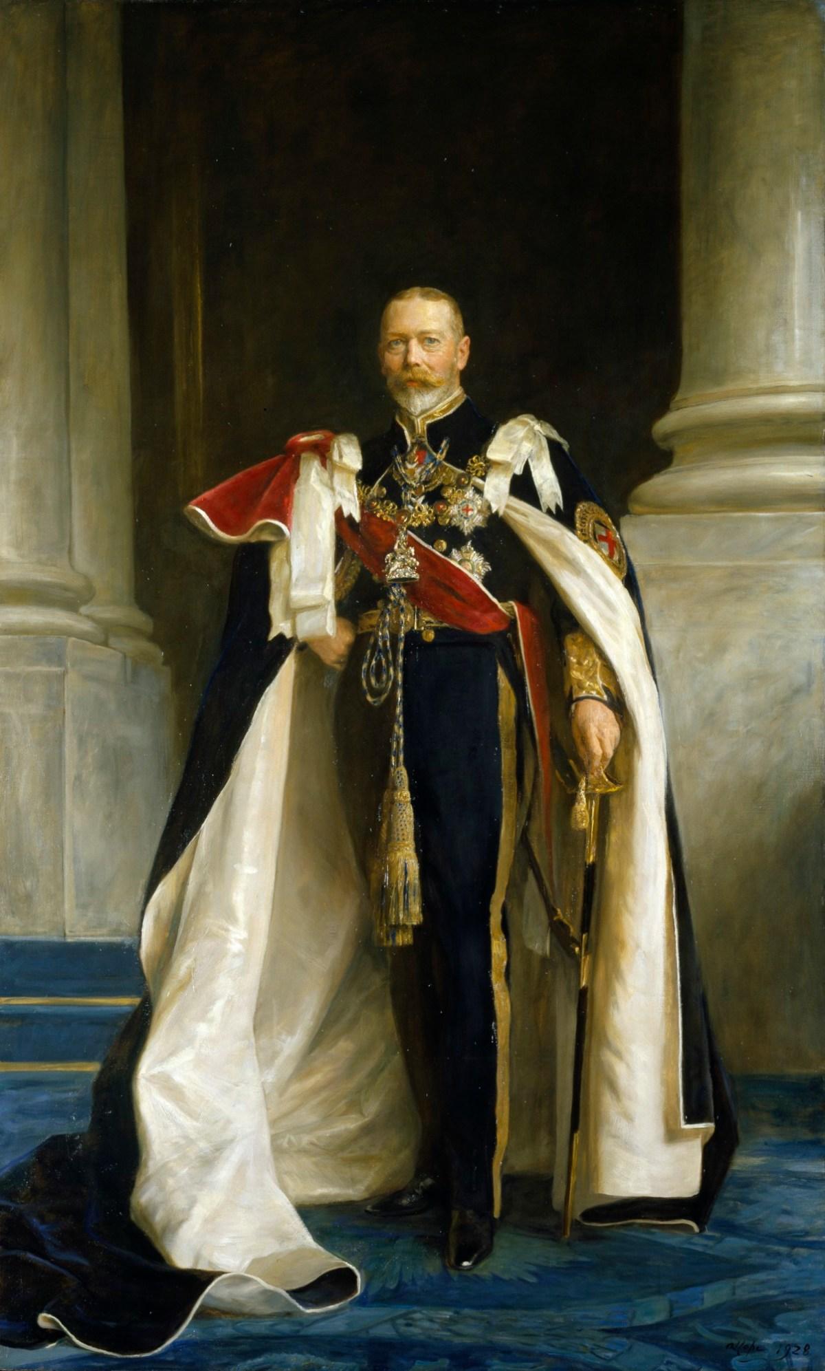Portrait of King George V | Works of Art | RA Collection ...  Royal