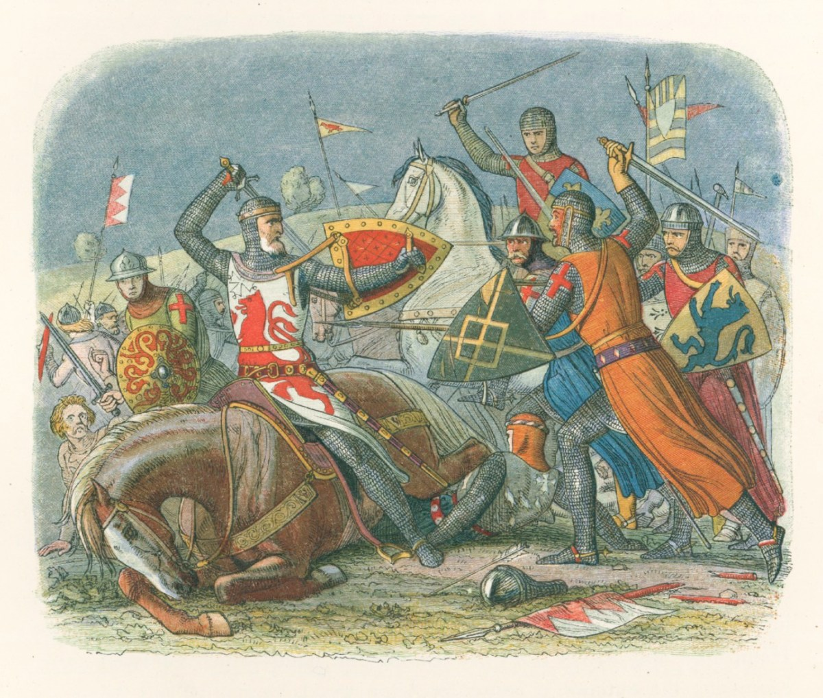 The Death of Simon de Montfort | Works of Art | RA