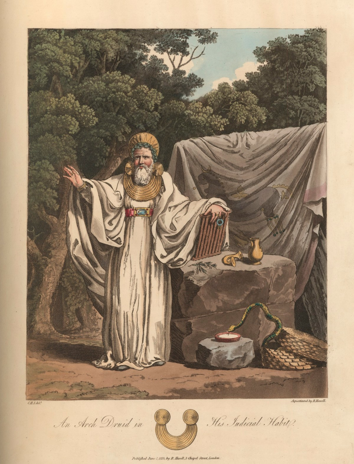 An Arch Druid In His Judicial Habit Works Of Art Ra Collection Royal Academy Of Arts