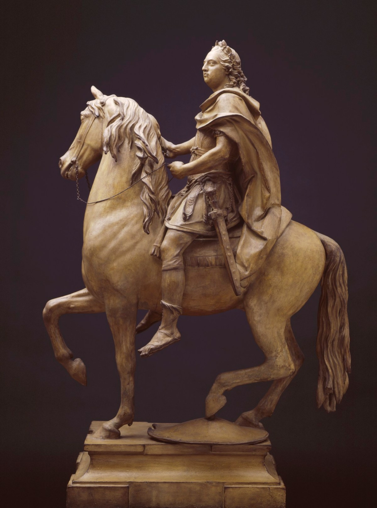 Model for an Equestrian Statue of King George III | Works of