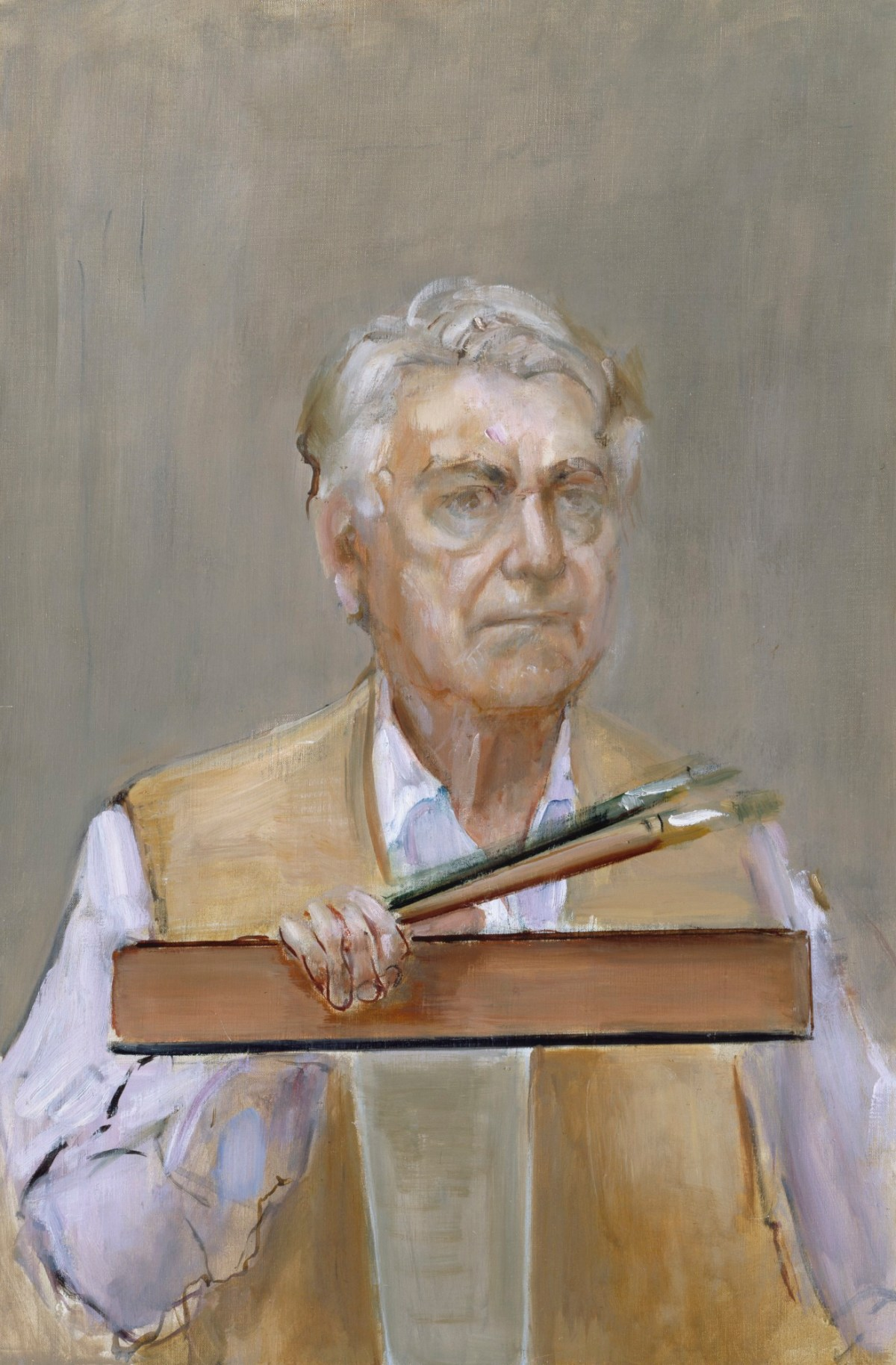Perry Auto Sales >> Self Portrait with Set Square | Works of Art | RA Collection | Royal Academy of Arts
