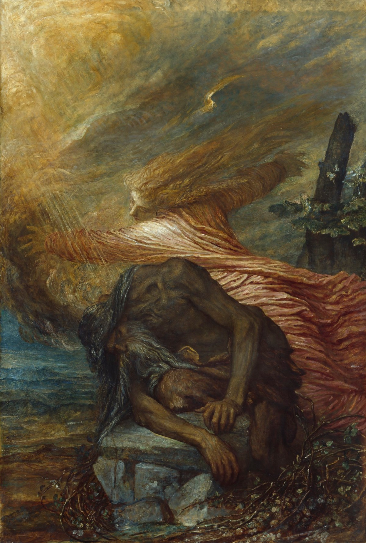 George Frederic Watts RA, The Death of Cain