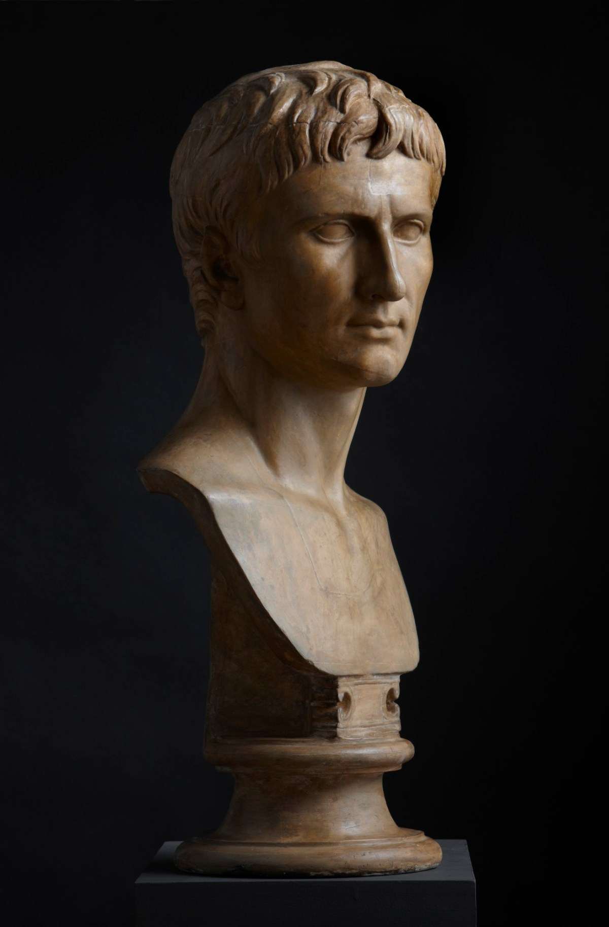 Cast of bust of Augustus in the British Museum | Works of Art | RA ...