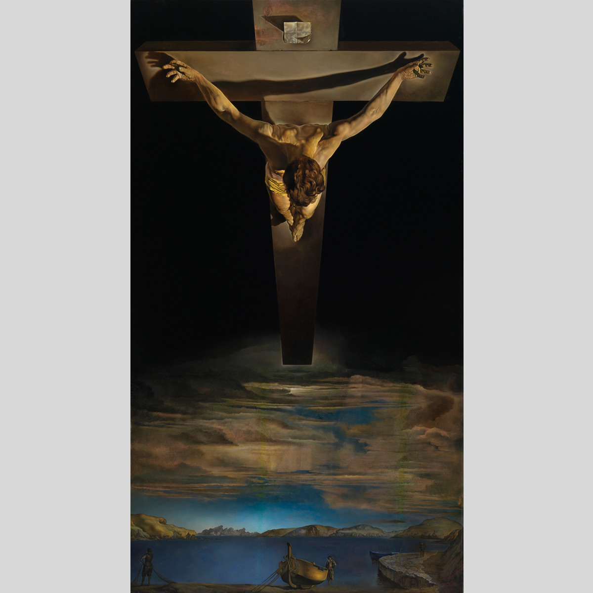 Work in focus: 'Christ of Saint John of the Cross' by Salvador Dalí | Event  | Royal Academy of Arts
