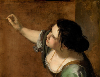 Artemisia Gentileschi, Allegory of Painting (detail)