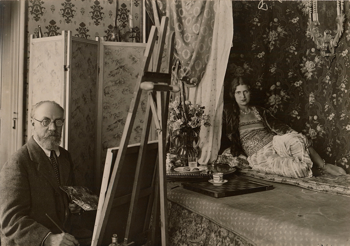 """Matisse's studio: """"an interior world of his own making"""""""
