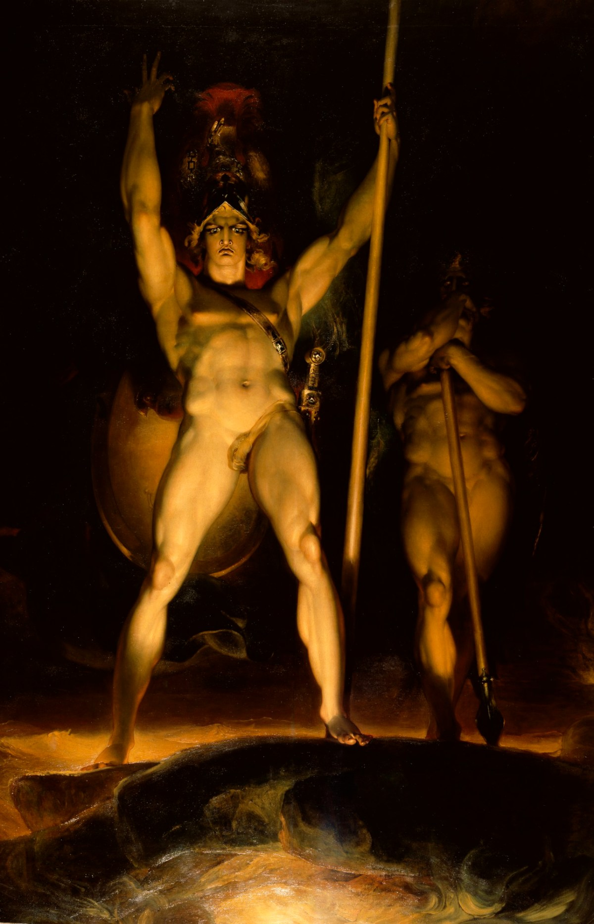 Sir Thomas Lawrence PRA, Satan summoning his Legions
