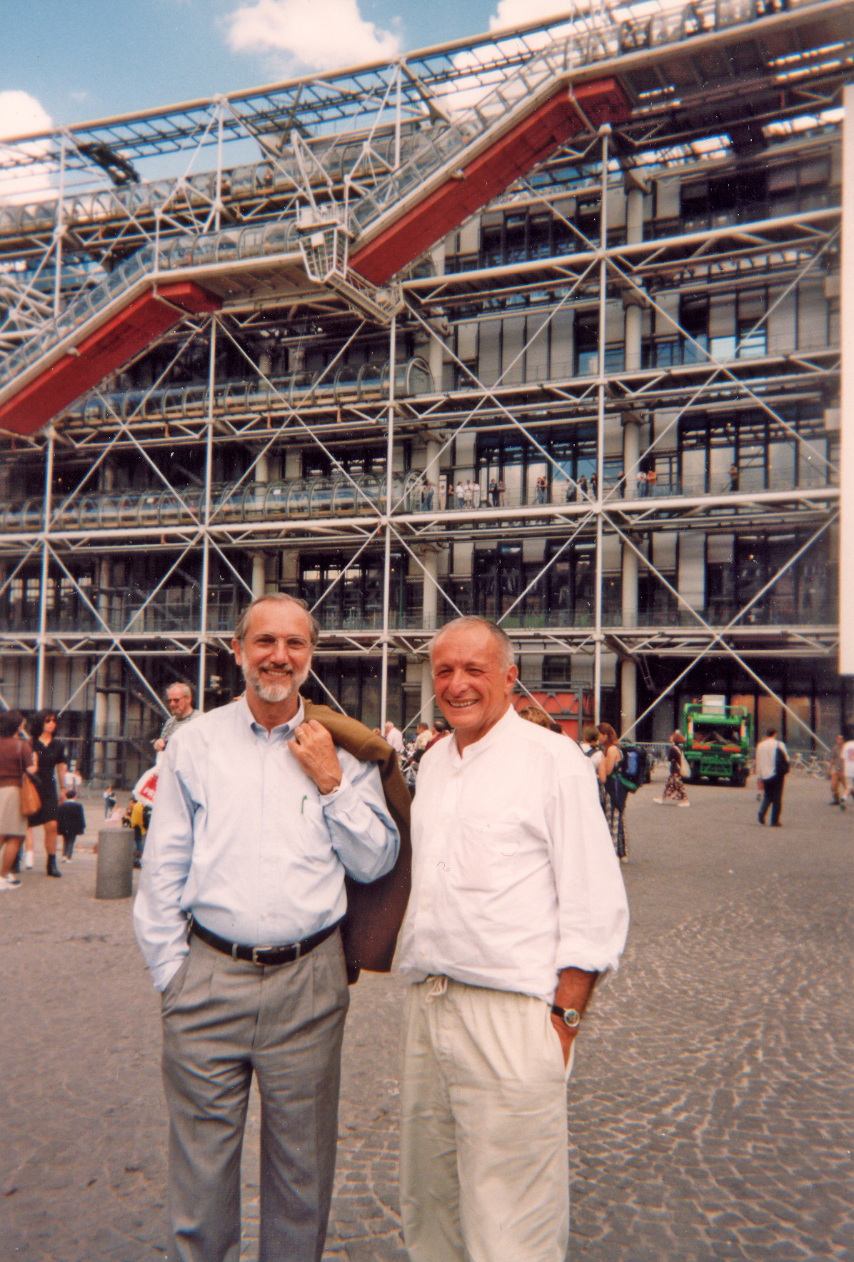 richard rogers on working with renzo piano his poet s soul brought us through blog royal. Black Bedroom Furniture Sets. Home Design Ideas