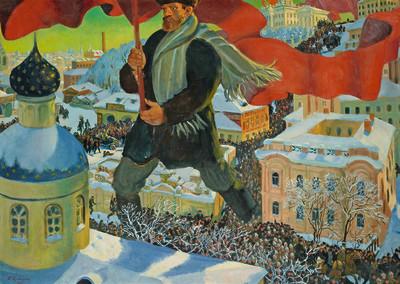 Boris Mikhailovich Kustodiev, Bolshevik