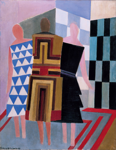 Sonia Delaunay, Simultaneous Dresses (The three women)