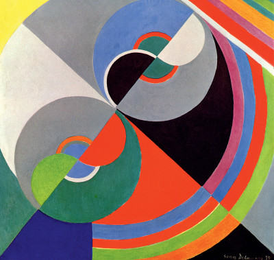 Sonia Delaunay , Rhythm Colour no. 1076