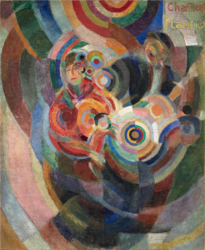 Sonia Delaunay , Flamenco Singers, known as Large Flamenco