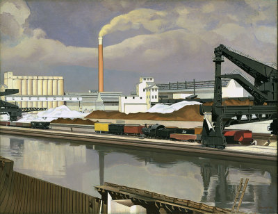 Charles Sheeler, American Landscape