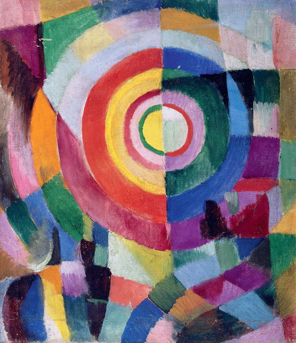 Sonia Delaunay , Electric Prisms