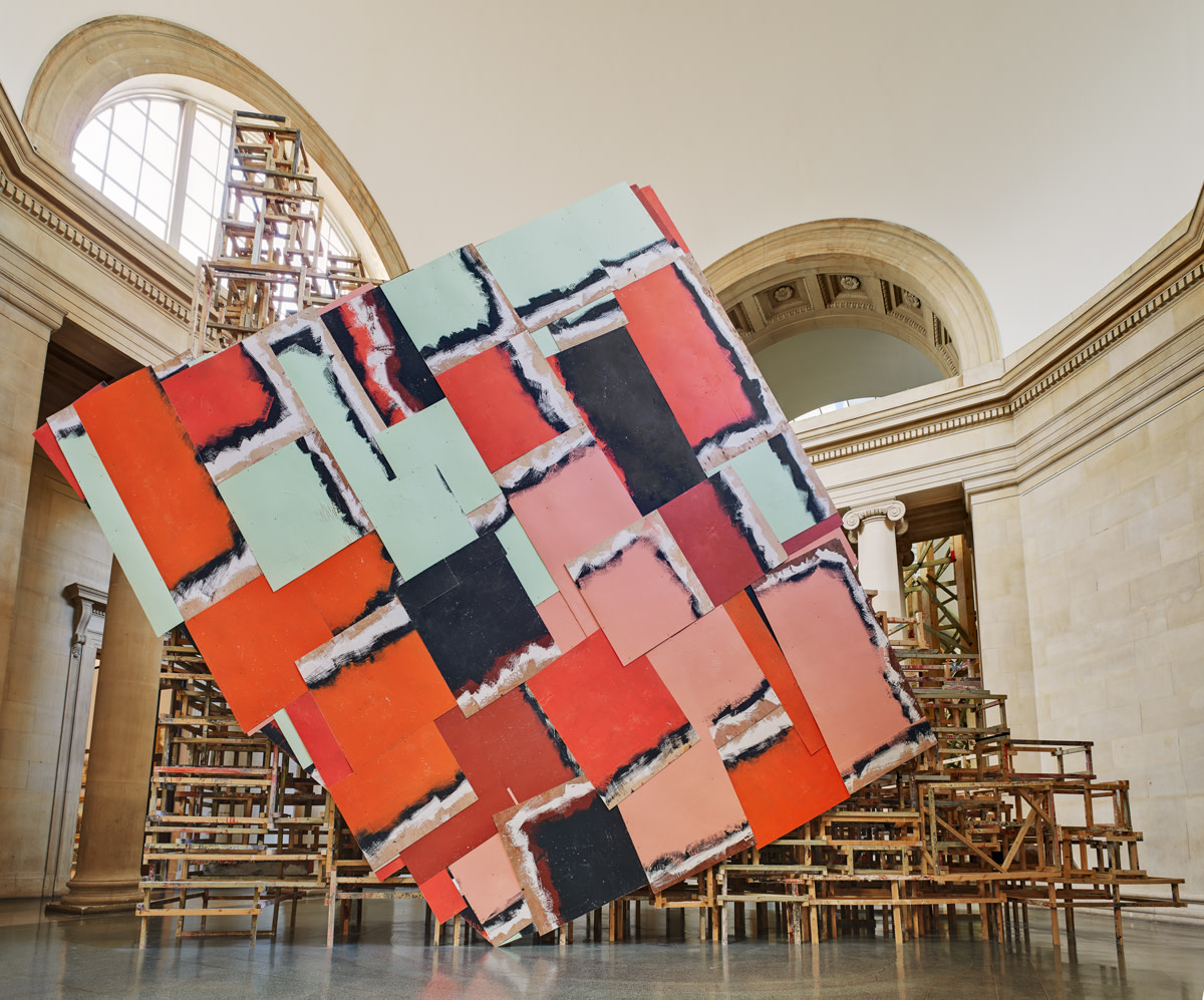 Room Planning Grid 10 Minutes With Phyllida Barlow Ra Blog Royal