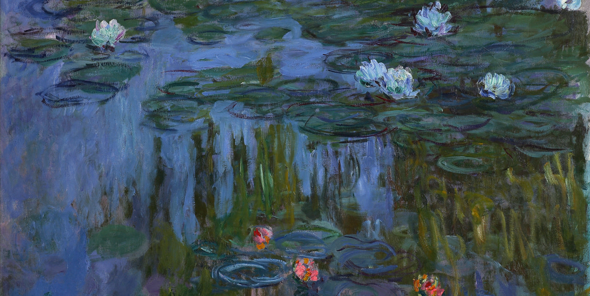 claude monet water lilies RA Dublin