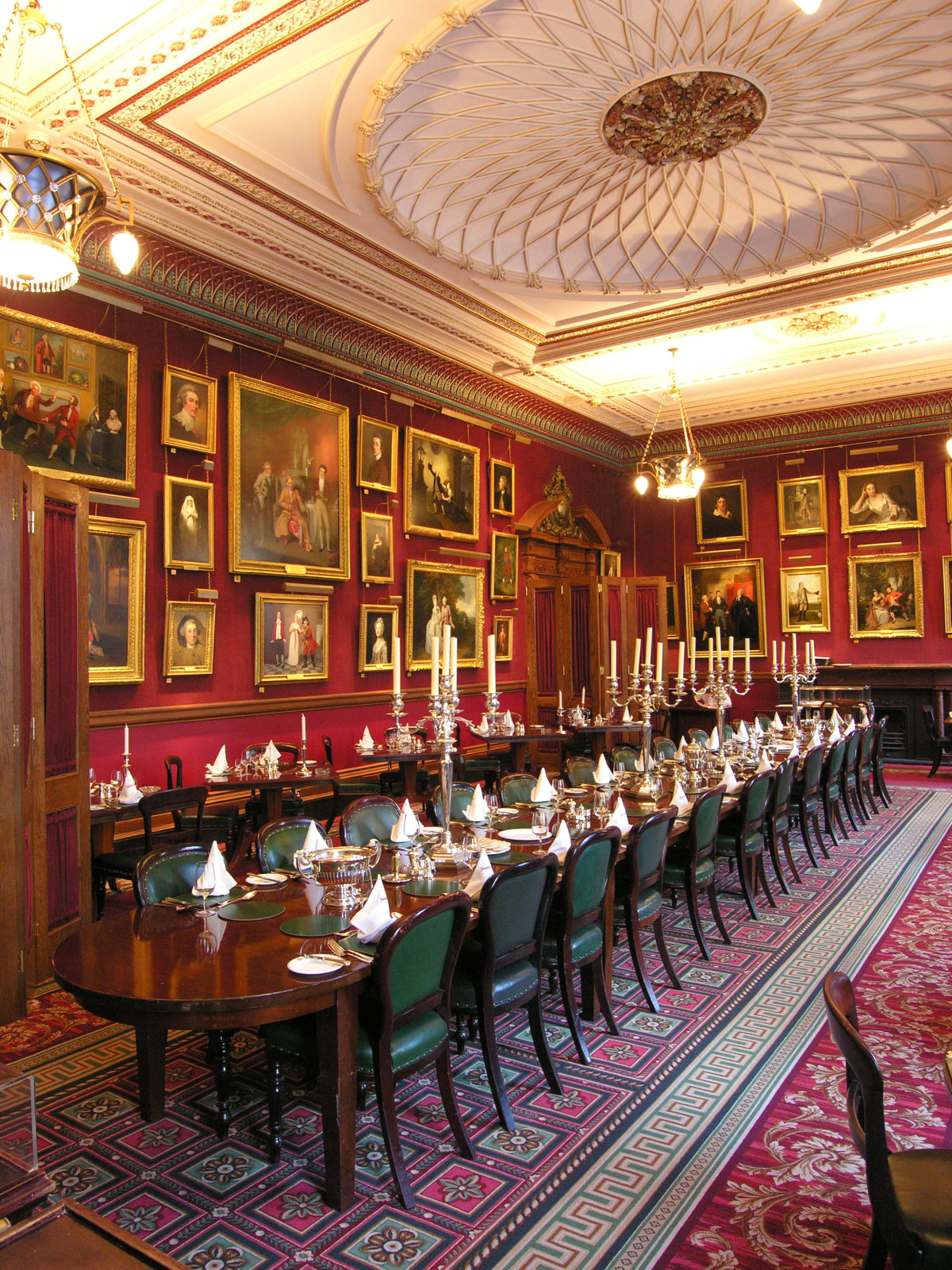 Friends excursions The Garrick Club Event