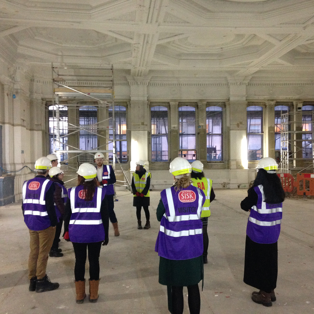 Friends Week: Hard-hat Tour Of The RA250 Building