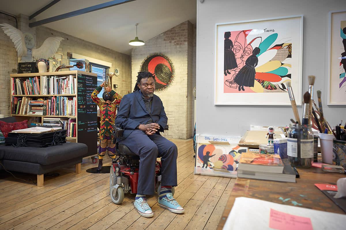 In The Studio With Yinka Shonibare Ra Blog Royal